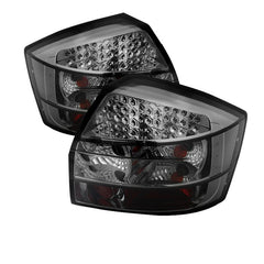 Audi A4 02-05 Spyder LED Tail Lights - Smoke - LED Tail Lights - Spyder - Carture Automotive