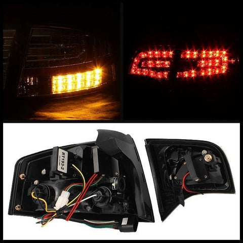 Audi A4 4Dr | 2006-2008 | Spyder LED Tail Lights | Black