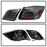 Honda Accord 2013-2015 4DR Spyder LED Tail Lights - Smoke