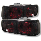 Honda Accord 92-93 4Dr Spyder Euro Style Tail Lights - Smoke