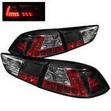 Mitsubishi Lancer / Evolution X 08-14 Spyder LED Tail Lights - Black
