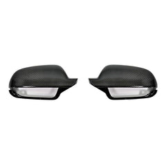 Audi Carbon Fiber Mirror Covers