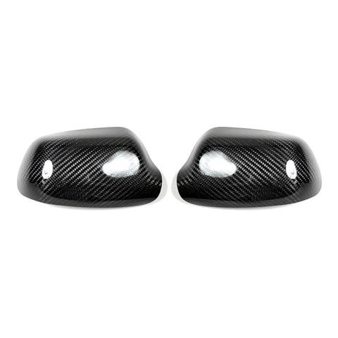 AutoTecknic Mazda 3 - Dry Carbon Fiber Mirror Covers - Not Full Replacement