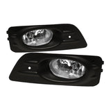 Honda Accord 06-07 4Dr OEM Spyder Fog Lights  W/Switch- Clear