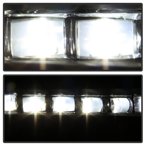 Honda Accord Sedan 2016-2017 OEM Spyder LED Spyder Fog Lights W/Switch- Clear