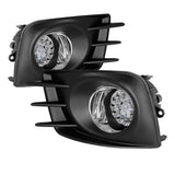 Scion TC 2011-2013 Spyder LED Fog Lights w/Switch - Clear