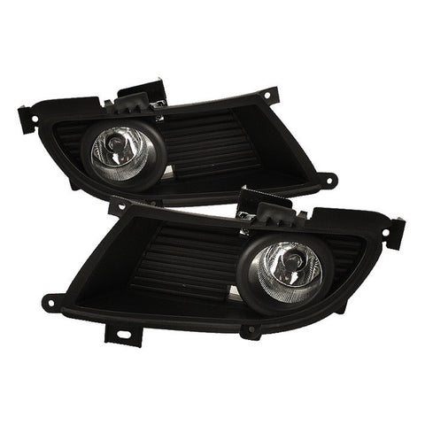 Mitsubishi Lancer 04-06 OEM Spyder Fog Lights w/Switch - Clear
