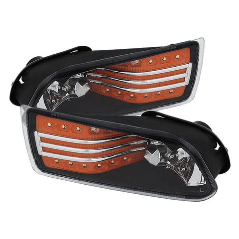 Scion TC 05-10 Spyder LED Fog Lights w/Switch - Amber