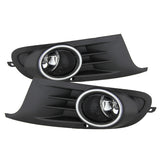 Volkswagen Golf TDI TSI/Jetta Sportwagen 2010-2014 OEM Style Spyder Fog Lights w/Switch - Clear