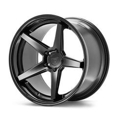 "22""x9.5"" Concave 5-Spoke Wheel / Rims 