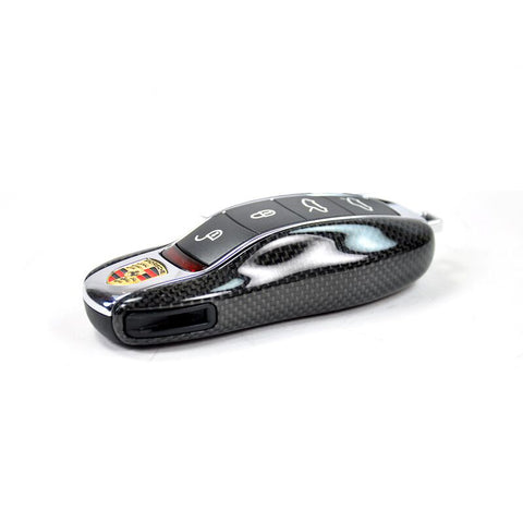 AutoTecknic Replacement Carbon Fiber Key Cover- Porsche