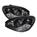 Mercedes Benz S-Class 03-06 Spyder Projector Headlight - Black