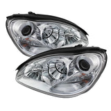 Mercedes Benz S-Class 03-06 Projector Headlights - Chrome
