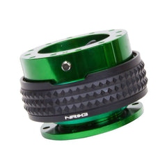 NRG Innovations | Quick Release Gen 2.1 | Green Body / Black Pyramid Ring