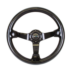 NRG Innovations | Steering Wheel | Full Carbon Fiber 350mm Deep Dish