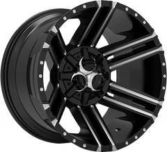 Toxic Avenger 20x12 Truck Alloy Wheel / Rims | Gloss Black Milled Undercut