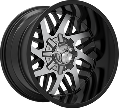 Toxic Lethal 20x12 Truck Alloy Wheel / Rims | Gloss Black Machined Face
