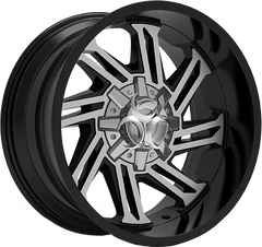 Toxic Razr 20x10 Truck Alloy Wheel / Rims | Gloss Black Machined Face