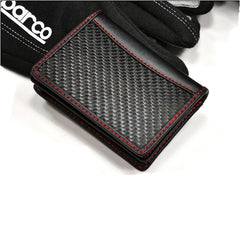 AutoTecknic Carbon Fiber Name Card Holder - Raceline Edition