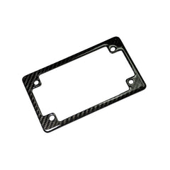 AutoTecknic Carbon Fiber License Plate Frame - Motorcycle