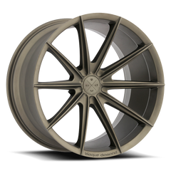 20x10 BD-11 Alloy Wheels / Rims | Antique Matte Bronze | Blaque Diamond