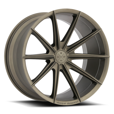 Blaque Diamond 19x8.5 BD-11 Alloy Wheels / Rims | Antique Matte Bronze