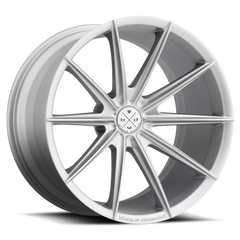 Blaque Diamond BD-11 Alloy Wheels Rims Matte Silver 20x10
