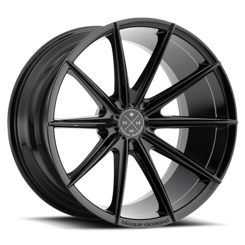 Blaque Diamond 19x9.5 BD-11 Alloy Wheels / Rims | Gloss Black