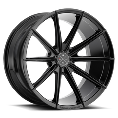 Blaque Diamond BD-11 Alloy Wheels Rims Gloss Black 22x9