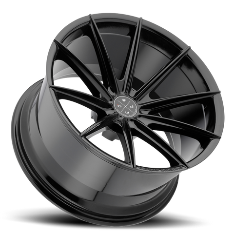 Blaque Diamond  22x9 BD-11 Alloy Wheels / Rims | Gloss Black