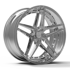 "Rosso Reactive 22""x8.5"" Alloy Wheel / Rims 