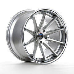 "19""x8.5"" 10-Spoke Deep Concave Wheel / Rims 