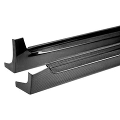 Carbon Fiber Side Skirts | 2008 - 2010 | SUBARU STI HATCHBACK ONLY | Seibon