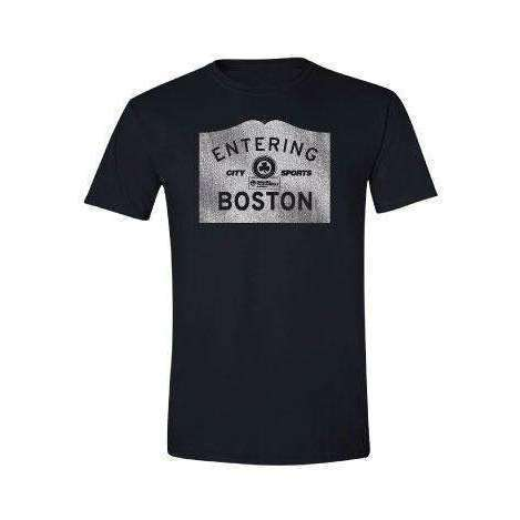 City Sports T-Shirt - Entering Boston,City Sports,citysports.com