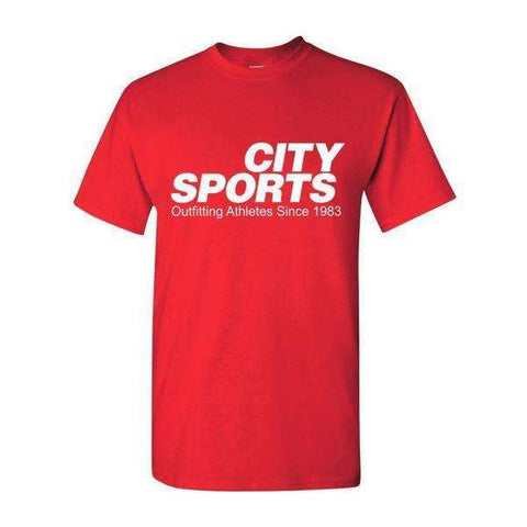 City Sports T-Shirt - Outfitting Athletes Since 1983,City Sports,citysports.com