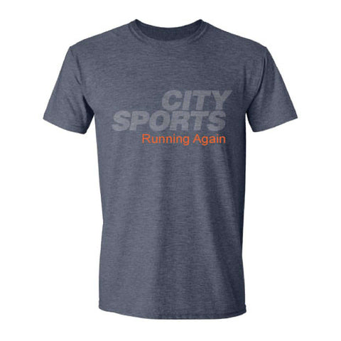 City Sports T-Shirt - Running Again,City Sports,citysports.com