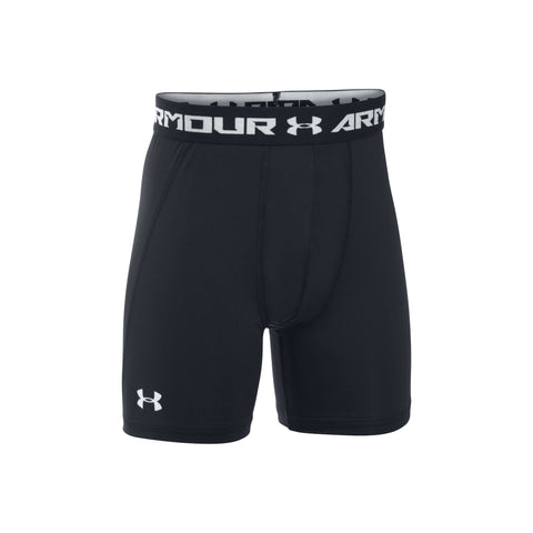 Under Armour Boys' HeatGear Armour Fitted Shorts,Under Armour,citysports.com