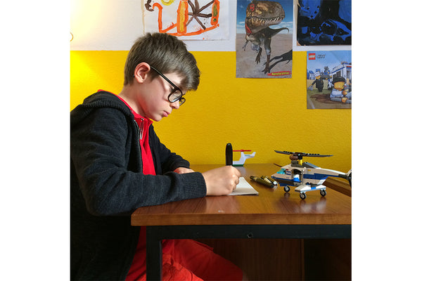 Young Artist Takes Iconic Helicopter to New Heights for 'Emulsion'