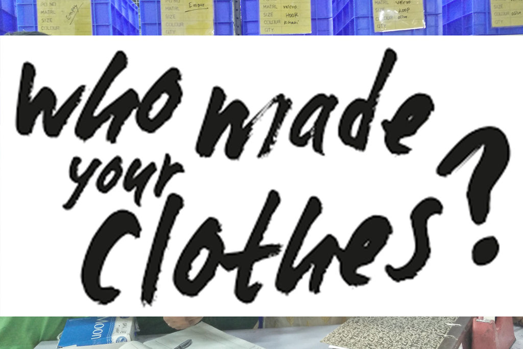Fashion Revolution Day: Who Made Your Clothes?
