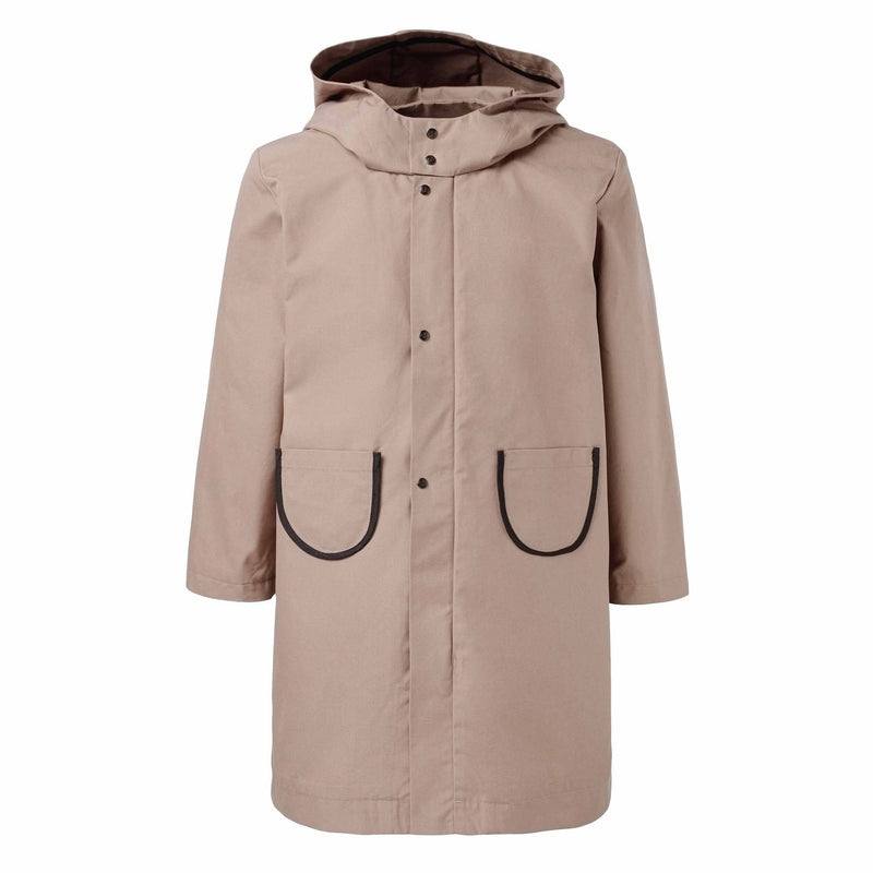 Beige Cotton EtaProof Parka
