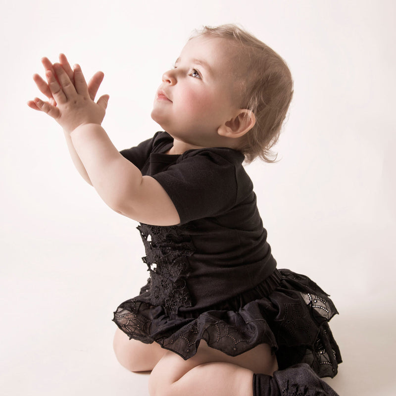 baby bloomers with spiderweb lace, lack bloomers for babies
