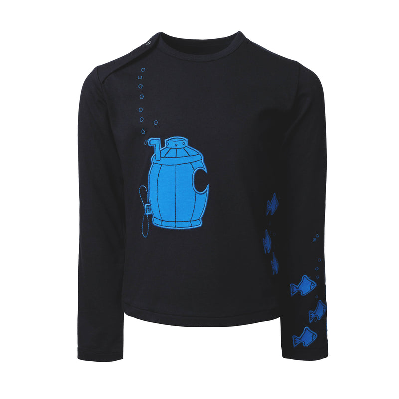 Long Sleeve Shirt With Submarine