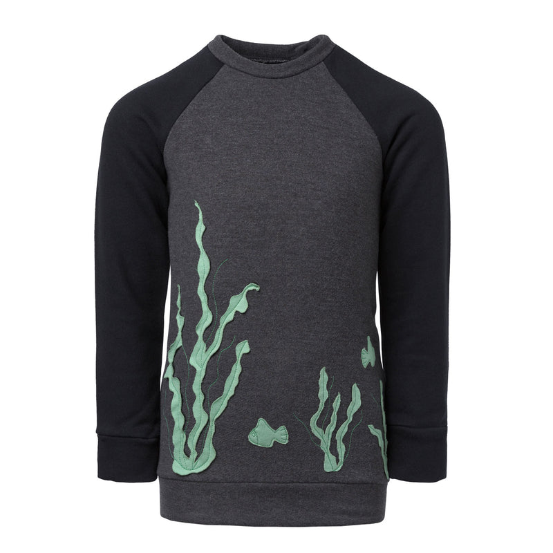 Sweatshirt with Marine Application