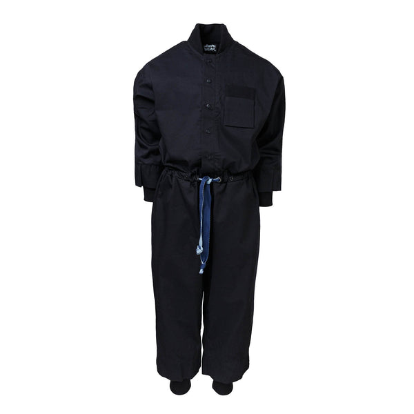Black Cotton Overall