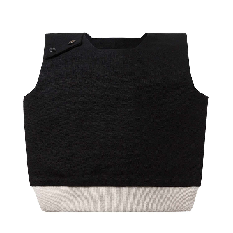 Black & White Cotton Bib