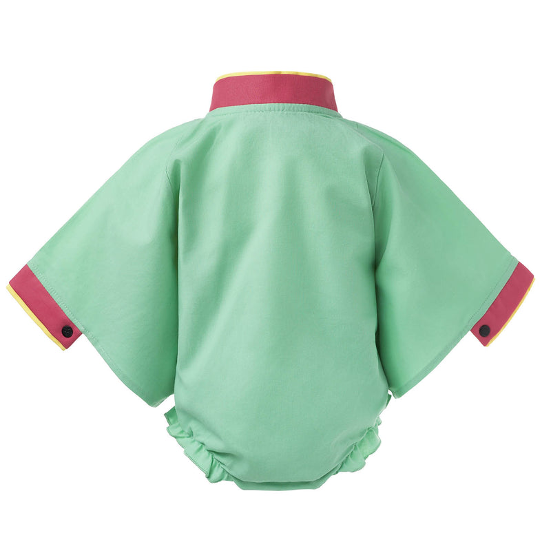GREEN Samurai Baby Body