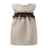 Linen Dress for Baby Girl