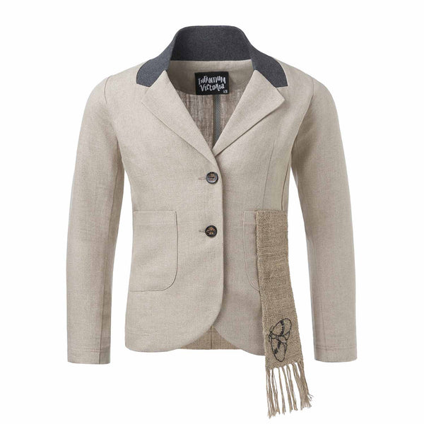 Linen Tailored Jacket