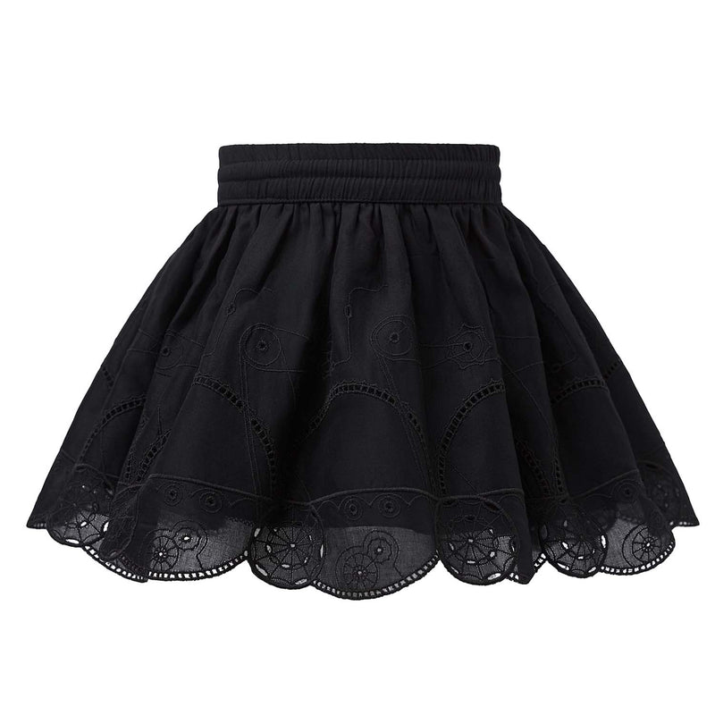 Steampunk Lace Skirt
