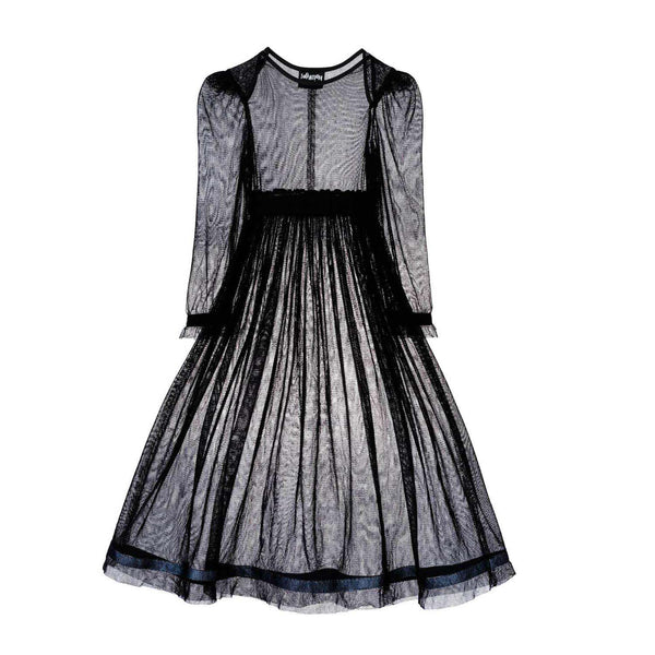 Black Tulle Dress for Girls